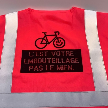 GILET PROVOK Made In Montrouge Transport
