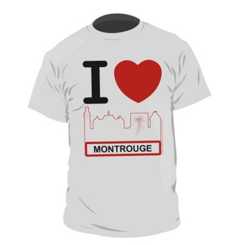 "T-Shirt ""I Love Montrouge"" Made In Montrouge Enfants"