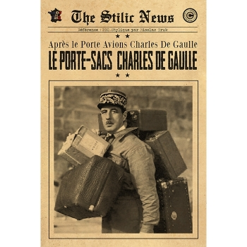PORTE SAC CHARLES DE GAULLE By Stilic Force So French