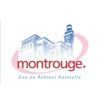 Bouteille eau Montrouge  Amusant